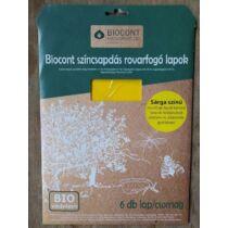 Biocont sárga rovarfogó lap A/4 5 db
