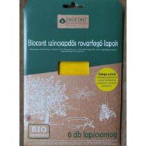 Biocont sárga rovarfogó lap A/5 5 db