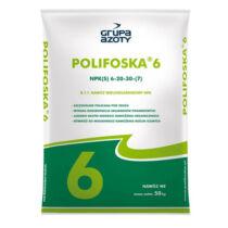 Polifoska 6-20-30+S 50 kg közepes foszfortartalom magas káliumtartalommal