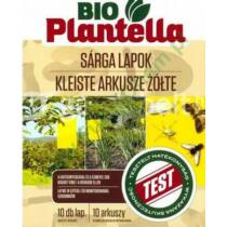 Bio Plantella sárga rovarfogó lap 10 db