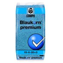 Compo Blaukorn premium 15-3-20 +Me 25 kg klórmentes alap és fejtrágya nitrifikáció gátló adalékkal