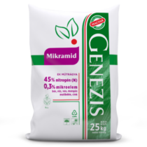 Mikramid 25 kg talaj, fej és lombtrágyaként alkalmazható nitrogén és mikroelem forrás
