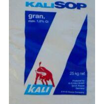K+S kálium-szulfát granulált 25 kg alap műtrágya szulfátos káliumtartalommal