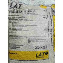 Komplex NPK 15-15-15 25 kg alap műtrágya nitrogén foszfor kálium
