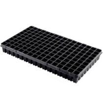 Desch Plantpak szaporító tálca 53x30 cm erdész 144 lyukas fekete