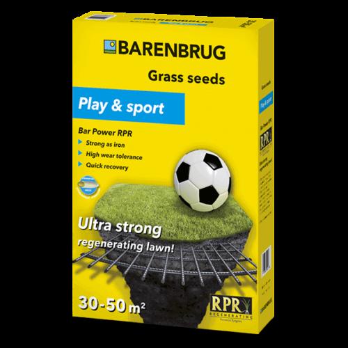 Barenbrug Bar Power RPR Play and Sport 1 kg fűmag, erős mint a vas