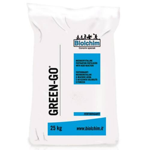 Green-Go 8-16-24+10Ca 25 kg vízoldható komplex műtrágya kálciummal
