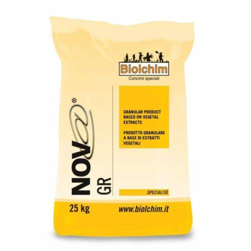 Nova 25 kg talajjavító, stresszoldó humusz és fulvósavtartalmú készítmény