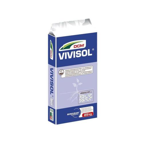DCM Vivisol növényi eredetű talajjavító gyeptrágya 25 kg