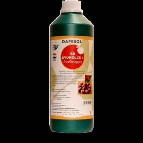 Damisol BB gyümölcs I. 1 liter Mikroelem lombtrágya