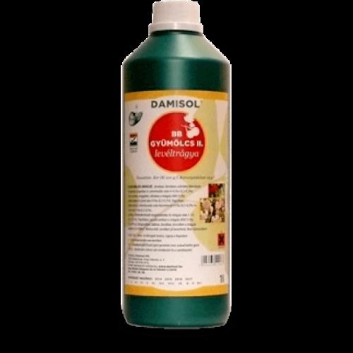 Damisol BB gyümölcs II. 1 liter Mikroelem lombtrágya