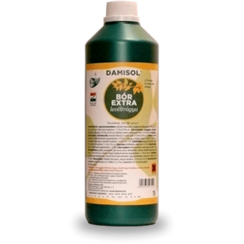 Damisol Bór Extra 1 liter Mikroelem lombtrágya