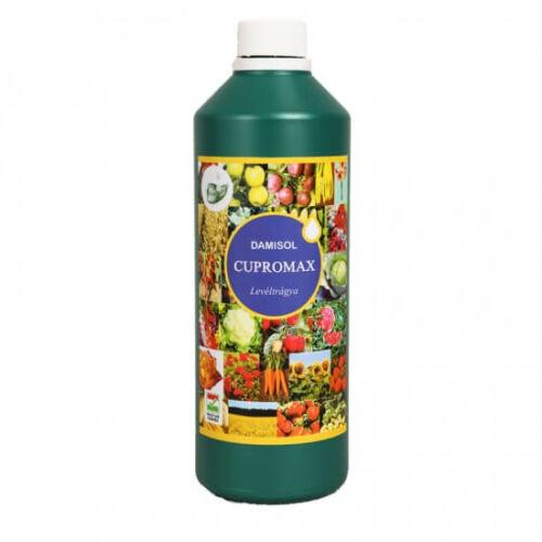 Damisol Cupromax felszívódó réz 1 liter Mikroelem lombtrágya