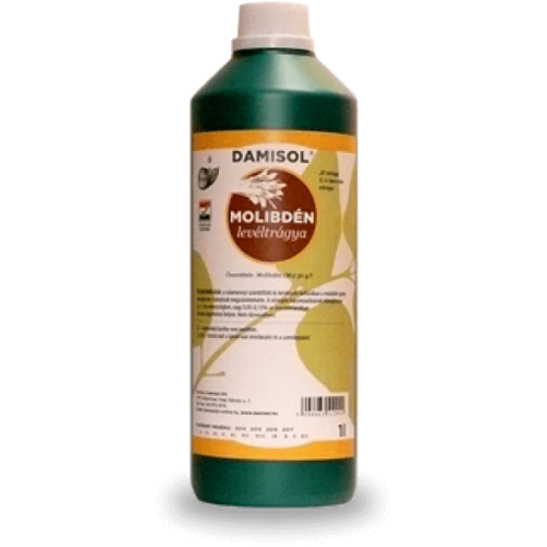 Damisol Molibdén 5 liter Mikroelem lombtrágya