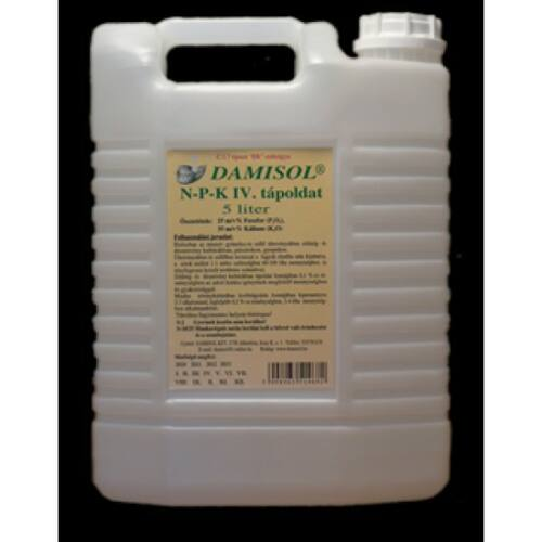 Damisol NPK IV. (0-25-30) 5 liter Makroelem lombtrágya