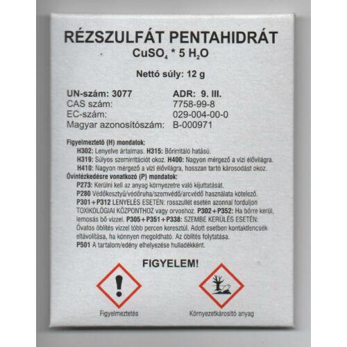Réz-szulfát 12 gram mikroelem