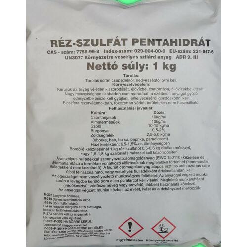 Réz-szulfát 1 kg mikroelem