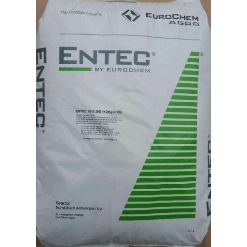 K+S Entec Select 15-5-20 25 kg káliumtúlsúlyú alap műtrágya hosszú hatástartamú nitrogénnel