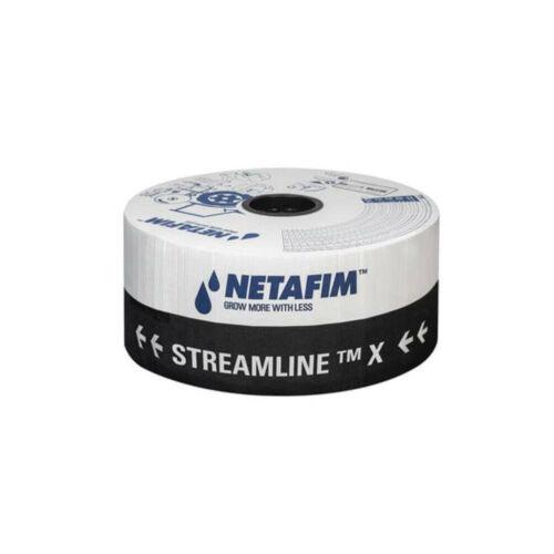 Netafim Streamline X 20 cm osztás 2600 m csepegtető szalag