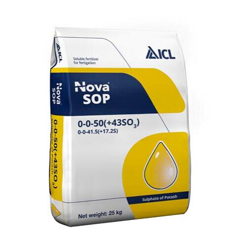 Nova kálium-szulfát 25 kg vízoldható mono műtrágya