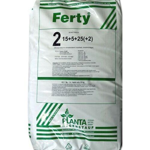 FERTY 2 BLAU 15-5-25+2Mg+M.e. 25 kg Komplex vízoldható műtrágya