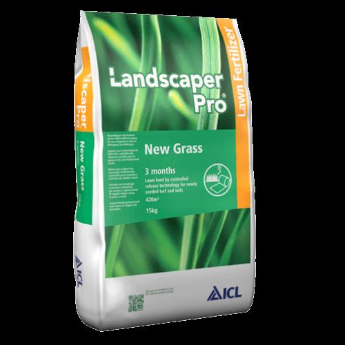 Landscaper Pro New Grass 20-20-8 15 kg prémium gyepműtrágya füvesítéshez