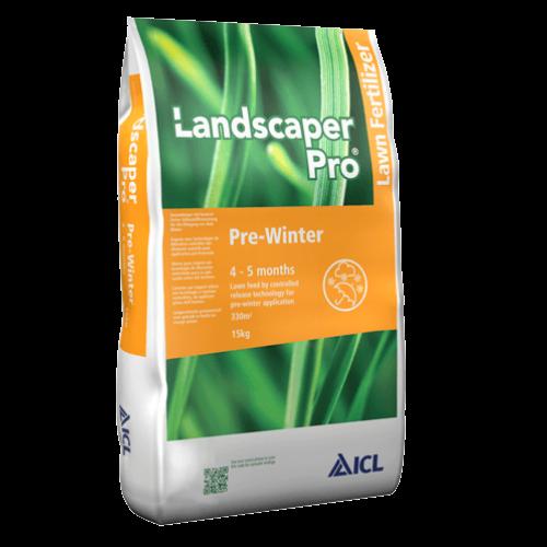 Landscaper Pro Pre Winter őszi/téli felkészítő gyeptrágya 4-5h 14-5-21+2Mg 15 kg