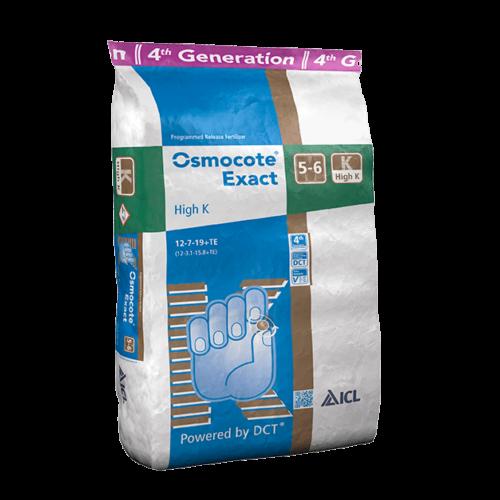OSMOCOTE Exact 5-6K 12-7-19+Te 25 kg Dísznövény műtrágya