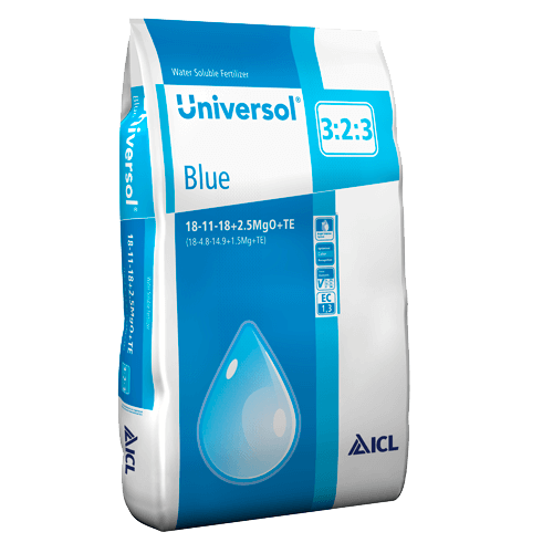 Universol Blue 18-11-18+2Mg+ M.e. 25 kg Komplex vízoldható műtrágya