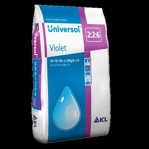 Universol Violet 10-10-30+2Mg+M.e. 25 kg Komplex vízoldható műtrágya