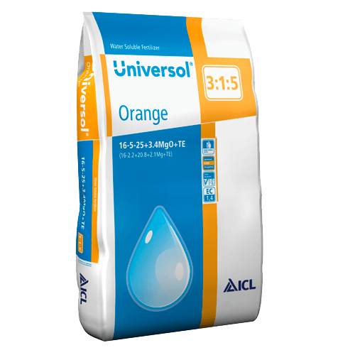 Universol Orange 16-5-25+2Mg+ M.e. 25 kg Komplex vízoldható műtrágya