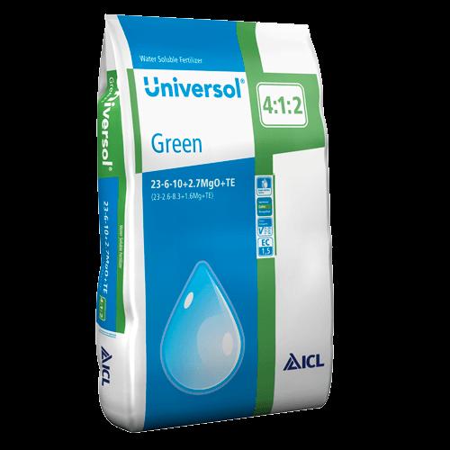 Universol Green 23-6-10+2Mg+ M.e. 25 kg Komplex vízoldható műtrágya