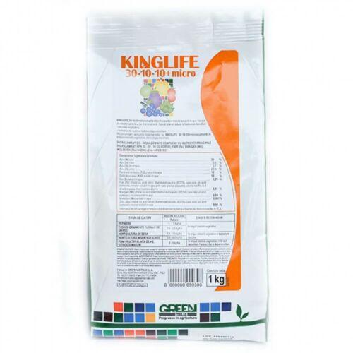 Kinglife 30-10-10+m.e. 1 kg Komplex lombtrágya