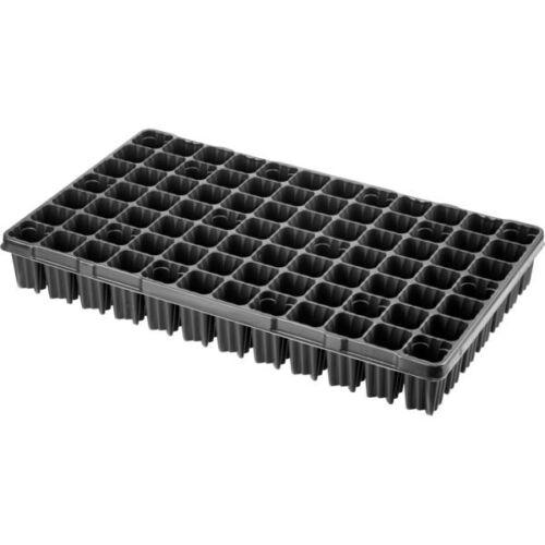 Desch Plantpak műanyag szögletes szaporító tálca 53x30 cm erdész 84 lyukas fekete magvetéshez