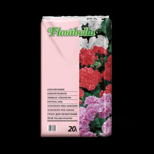 Florabella muskátli föld 20 liter prémium német virágföld