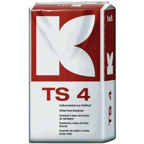 Klasmann TS 4 PLUS medium + perlit + agyag 200 liter tőzegkeverék magvetéshez, palántaneveléshez
