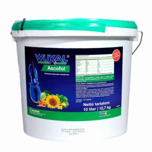 Wuxal Ascofol 10 liter algatartalmú termésnövelő biostimulátor