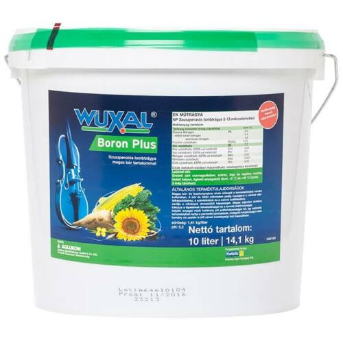 Wuxal Boron Plus 10 liter magas bór és foszfortartalommal
