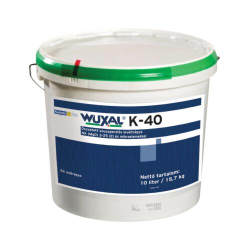 Wuxal K-40 10 liter extra magas káliummal a termésminőség javítására