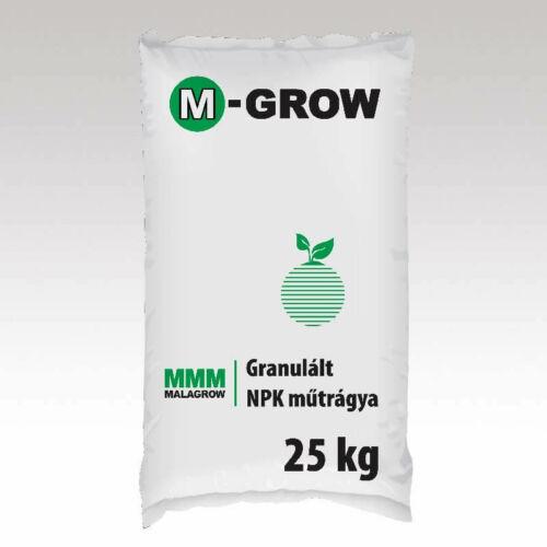 M-Grow 11-12-17 (3+29) 25 kg granulált NPK tartalmú műtrágya