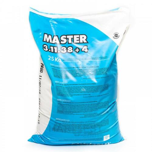 Master 3-11-38+4+ME 25 kg vízoldható kálium túlsúlyú komplex műtrágya