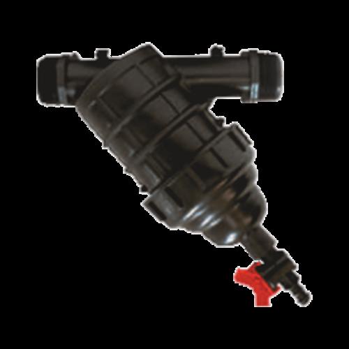 Acélhálós szűrő csappal 2 col hydrociklonos öntözéstechnika