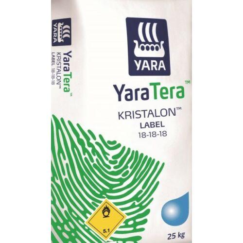 YaraTera Kristalon special 18-18-18+3Mg+M.e. 25 kg vízoldható kiegyenlített komplex műtrágya tápoldatozáshoz és lombtrágyázáshoz